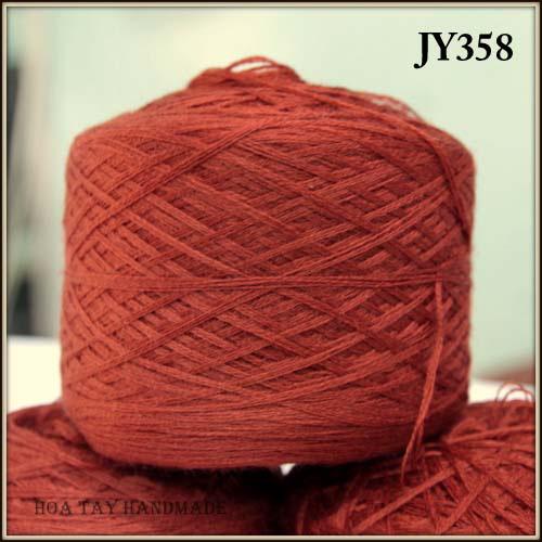 Len sợi, phụ liệu đan móc: chỉ cotton, len Nhật, len Hàn, len 1 sợi, cotton Nhật, Cotton Hàn, kim móc, kim đan... Ảnh số 32218029