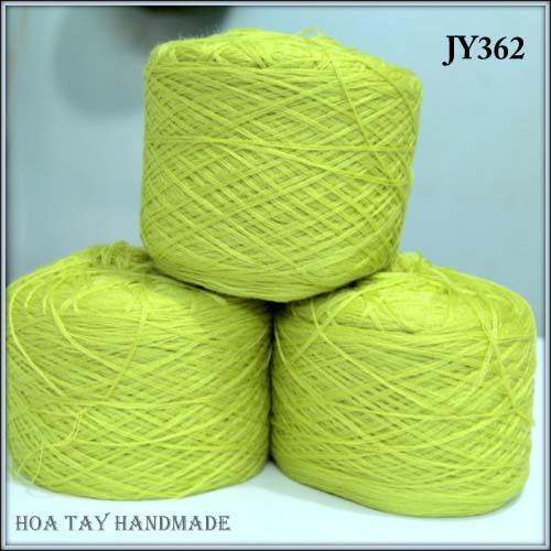 Len sợi, phụ liệu đan móc: chỉ cotton, len Nhật, len Hàn, len 1 sợi, cotton Nhật, Cotton Hàn, kim móc, kim đan... Ảnh số 32218034