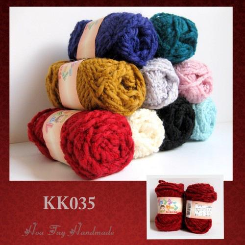 Len sợi, phụ liệu đan móc: chỉ cotton, len Nhật, len Hàn, len 1 sợi, cotton Nhật, Cotton Hàn, kim móc, kim đan... Ảnh số 32218410
