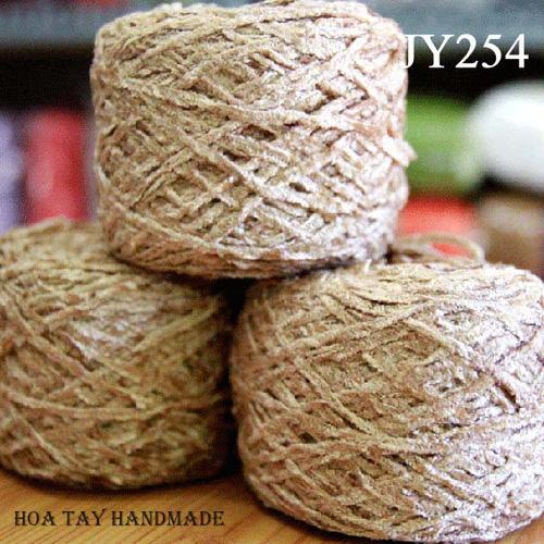 Len sợi, phụ liệu đan móc: chỉ cotton, len Nhật, len Hàn, len 1 sợi, cotton Nhật, Cotton Hàn, kim móc, kim đan... Ảnh số 32218466