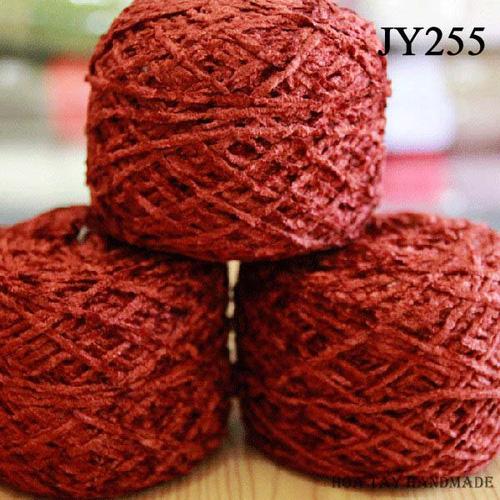 Len sợi, phụ liệu đan móc: chỉ cotton, len Nhật, len Hàn, len 1 sợi, cotton Nhật, Cotton Hàn, kim móc, kim đan... Ảnh số 32218537