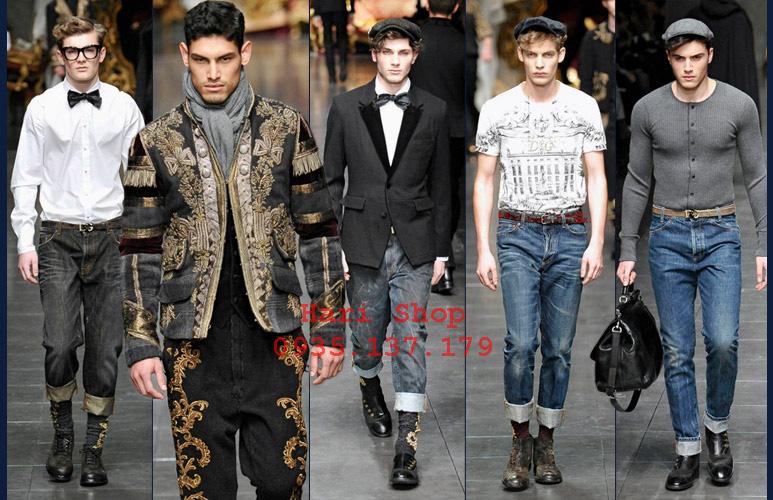 Mới về: Jeans nam F1, quần bò nam dáng chuẩn, form đẹp Dsquared2, DG... nhanh tay