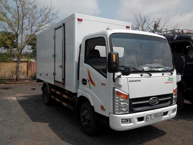 Cần bán xe tải Veam VT200 2 tấn máy Hyundai D4BH mới 100% đời 2014 thùng mui kín, mui bạt giá rẻ nhất Miền Nam Ảnh số 32374872
