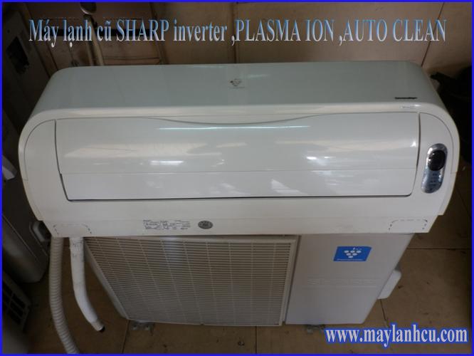 Máy lạnh cũ SHARP inverter Plasmaion AutoClean 1hp, 1.5hp, giá tốt Ảnh số 32459584