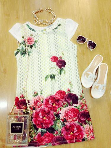 Xinh Lung Linh với cực nhìu Style Váy, Chân Váy, Maxi, Sơ mi, Jean, Pull. Các bạn ủng hộ m nhé. ?nh s? 32498546
