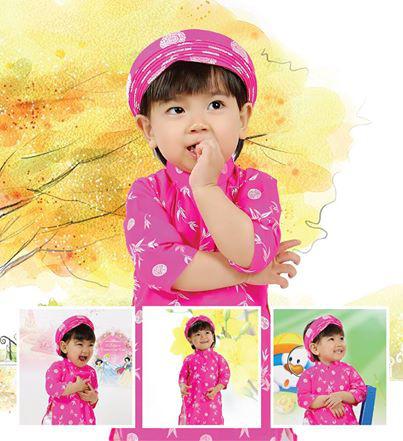Cung cấp hàng sỉ các mẫu áo dài cho bé gái.... khuyến mãi hấp dẫn Ảnh số 32584090
