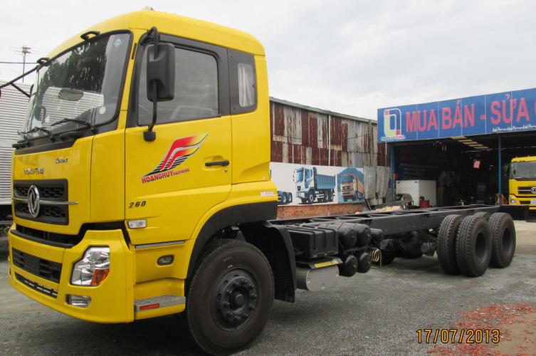 Xe tải Dongfeng C260, Bán xe tải Dongfeng C260 12,6 tấn, Giá xe tải Dongfeng C260 thùng mui phủ Ảnh số 32630671