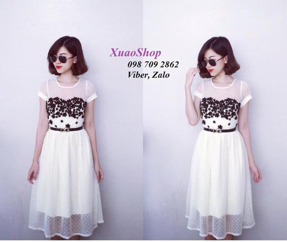 Xinh Lung Linh với cực nhìu Style Váy, Chân Váy, Maxi, Sơ mi, Jean, Pull. Các bạn ủng hộ m nhé. ?nh s? 32676299