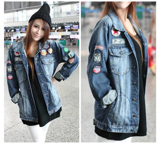 Áo khoác jean nữ, sơ mi jean nữ form đẹp, giá rẻ Ảnh số 32883306