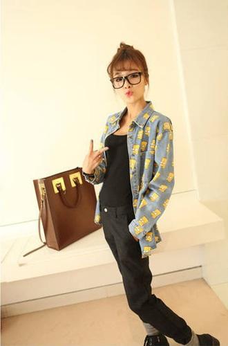 Áo khoác jean nữ, sơ mi jean nữ form đẹp, giá rẻ Ảnh số 32883307