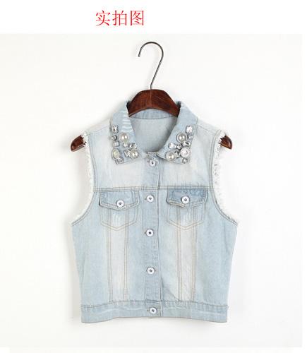 Áo khoác jean nữ, sơ mi jean nữ form đẹp, giá rẻ Ảnh số 32883314