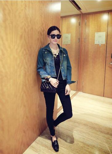 Áo khoác jean nữ, sơ mi jean nữ form đẹp, giá rẻ Ảnh số 32883311