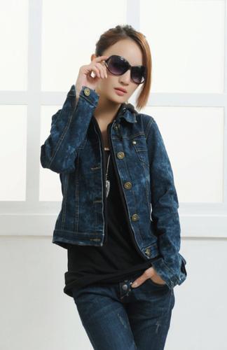 Áo khoác jean nữ, sơ mi jean nữ form đẹp, giá rẻ Ảnh số 32899420