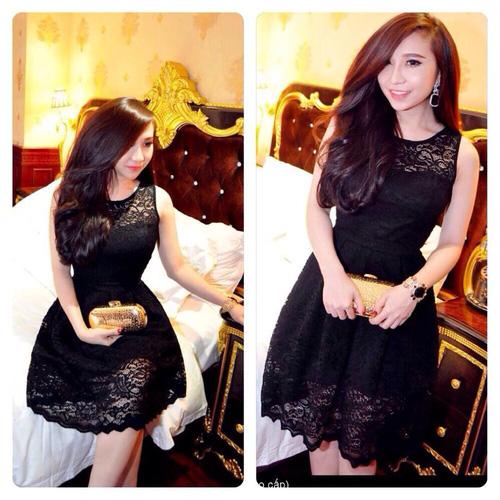 Xinh Lung Linh với cực nhìu Style Váy, Chân Váy, Maxi, Sơ mi, Jean, Pull. Các bạn ủng hộ m nhé. ?nh s? 32966282