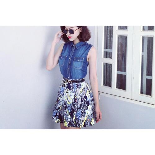 Xinh Lung Linh với cực nhìu Style Váy, Chân Váy, Maxi, Sơ mi, Jean, Pull. Các bạn ủng hộ m nhé. Ảnh số 32966285