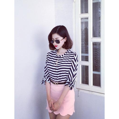Xinh Lung Linh với cực nhìu Style Váy, Chân Váy, Maxi, Sơ mi, Jean, Pull. Các bạn ủng hộ m nhé. Ảnh số 32966286