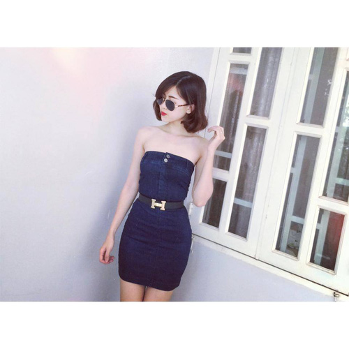 Xinh Lung Linh với cực nhìu Style Váy, Chân Váy, Maxi, Sơ mi, Jean, Pull. Các bạn ủng hộ m nhé. ?nh s? 32966292