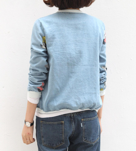 Áo khoác jean nữ, sơ mi jean nữ form đẹp, giá rẻ Ảnh số 32986826