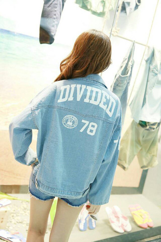 Áo khoác jean nữ, sơ mi jean nữ form đẹp, giá rẻ Ảnh số 32986833