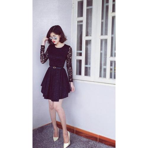 Xinh Lung Linh với cực nhìu Style Váy, Chân Váy, Maxi, Sơ mi, Jean, Pull. Các bạn ủng hộ m nhé. ?nh s? 33083926