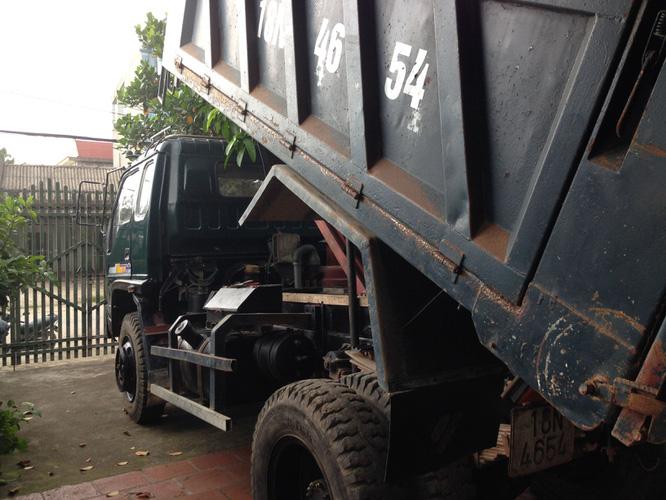 Bán 1 xe ben cũ Thaco Trường Hải 6 tấn 1 cầu đời 2008 xe cực chất giá 175 triệu đồng. Ảnh số 33145644