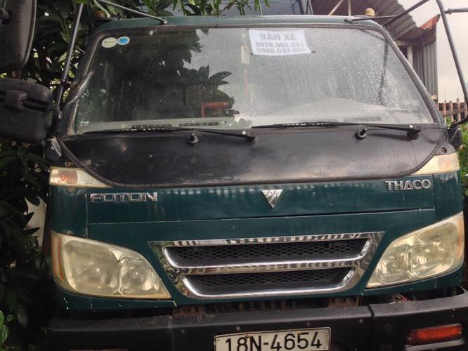 Bán 1 xe ben cũ Thaco Trường Hải 6 tấn 1 cầu đời 2008 xe cực chất giá 175 triệu đồng. Ảnh số 33145688