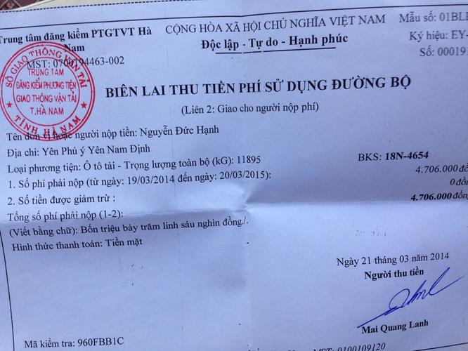 Bán 1 xe ben cũ Thaco Trường Hải 6 tấn 1 cầu đời 2008 xe cực chất giá 175 triệu đồng. Ảnh số 33145820