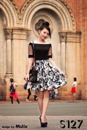 Xinh Lung Linh với cực nhìu Style Váy, Chân Váy, Maxi, Sơ mi, Jean, Pull. Các bạn ủng hộ m nhé. Ảnh số 33308829