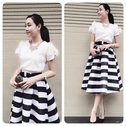 Xinh Lung Linh với cực nhìu Style Váy, Chân Váy, Maxi, Sơ mi, Jean, Pull. Ảnh số 32186122