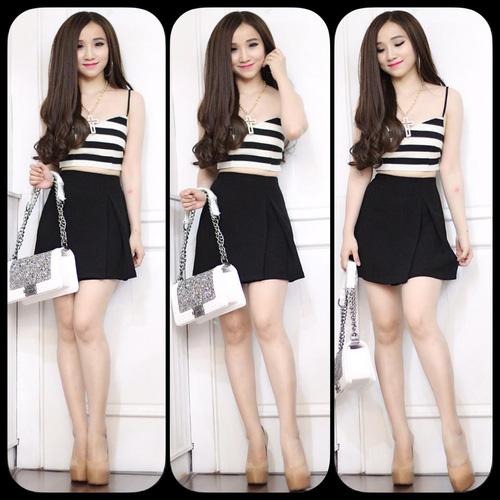 Xinh Lung Linh với cực nhìu Style Váy, Chân Váy, Maxi, Sơ mi, Jean, Pull. Ảnh số 32186826