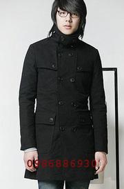 Ảnh số 3: áo choàng dạ nam - Giá: 1.600.000