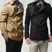 Ảnh số 4: áo choàng dạ nam - Giá: 1.300.000