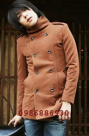 Ảnh số 5: áo choàng dạ nam - Giá: 1.400.000