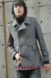 Ảnh số 7: áo choàng dạ nam - Giá: 1.200.000