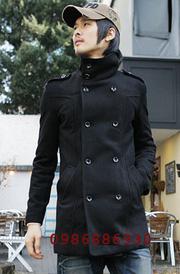 Ảnh số 9: áo choàng dạ nam - Giá: 1.600.000