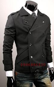 Ảnh số 14: áo choàng dạ nam - Giá: 1.200.000
