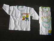 Ảnh số 5: áo cài giữa TD viền màu - Giá: 10.000