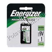 Ảnh số 1: Pin sạc điện, Pin thông dụng, máy kỹ thuật số, Pin 9V, Pin 175 mAh, Pin NiMH, Pin sạc ENERGIZER NH22/BP1, 1 Vỉ/ 1 viên pin sạc - Giá: 200.000