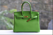 nh s 63: HERMES Birkin mu xanh l cy  (gi theo s t trn(ch  gi)  bit gi. - Gi: 912.245.244