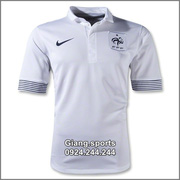 Ảnh số 12: Áo cầu thủ  Pháp - away 2012 - Giá: 100.000