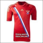 Ảnh số 14: Áo cầu thủ  Nga- home 2012 - Giá: 100.000