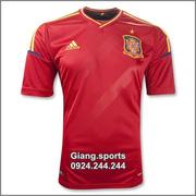 Ảnh số 15: Áo cầu thủ  Tây Ban Nha - home 2012 - Giá: 100.000