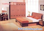 Ảnh số 2: giường gỗ xoan đào - Giá: 8.500.000