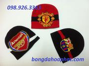 Ảnh số 63: Mũ len các CLB bóng đá - Giá: 80.000