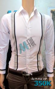 Ảnh số 5: Áo sơmi M-FUL VIP - Giá: 350.000