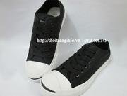 nh s 12: CONVERSE Jack Purcell Da 2 mu Ghi + en - Gi: 350.000