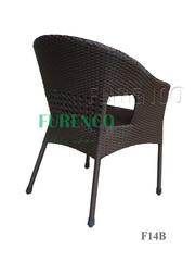 Ảnh số 5: Bàn ghế cafe mây nhựa F14 - Giá: 390.000