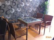 Ảnh số 13: Bàn ghế cafe mây nhựa F16 - Giá: 490.000