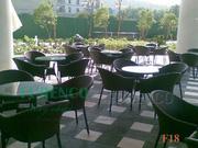 Ảnh số 21: Bàn ghế cafe mây nhựa F18 - Giá: 505.000
