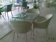 Ảnh số 22: Bàn ghế cafe mây nhựa F18 - Giá: 505.000
